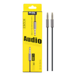 High Quality 3.5mm to 3.5mm 1.5 Metre Audio Aux Cable - K3263