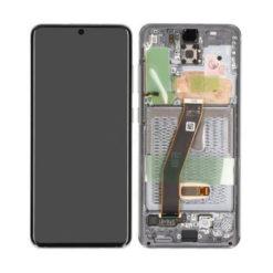 Genuine Samsung G981 Galaxy S20 5G LCD Screen & Touch Digitiser - Grey