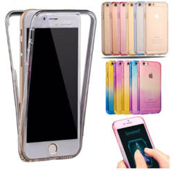 iPhone 7 360° Ultra Thin Shockproof TPU Gel Protective Case