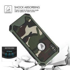 iPhone Camo / Camouflage Design Heavy Duty Shockproof Case