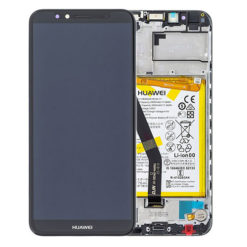 Genuine Huawei Y6 2018 LCD Screen & Touch Digitiser With Frame & Battery