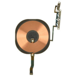 iPhone 11 Pro OEM NFC Antenna Wireless Charging Coil & Volume / Mute Button Flex Cable
