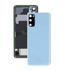 Samsung G980 Galaxy S20 Rear Back Glass / Battery Cover With Camera Lens - Blue