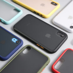 iPhone Frosted Matte Transparent Hard Back Case