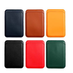 Magsafe Compatible Magnetic Wallet Card Holder For iPhone 12 / 12 Pro / 12 Pro Max