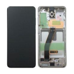 Genuine Samsung G980 / G981 Galaxy S20 5G LCD Screen & Touch Digitiser - White