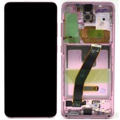 Genuine Samsung G980 / G981 Galaxy S20 5G LCD Screen & Touch Digitiser - Pink