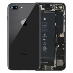 Genuine iPhone 8 Plus Rear Housing With Parts & Battery - Black - Grade B / C