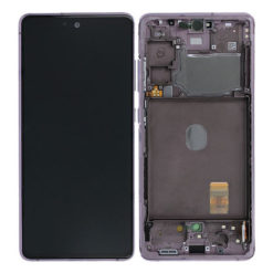 Genuine Samsung G781 Galaxy S20 FE 5G LCD Screen & Touch Digitiser - Cloud Lavender