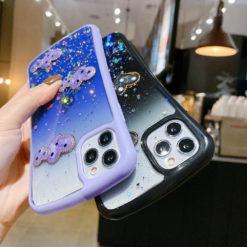 Hybrid Heart Diamond Glitter Fashion Case - iPhone