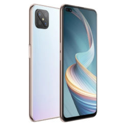 "Oppo Reno4 Z 5G 128GB 8GB RAM 48MP 65"" Dew White UK Refurbished"