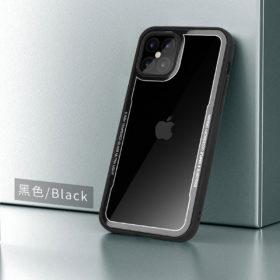 G-Case iPhone 12 Series Crystal Series Glass Premium Case - Black