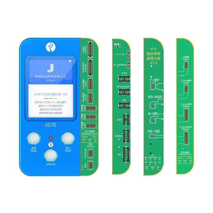JC V1S 4-IN-1 Data Programmer True Tone Brightness / Battery / Fingerprint Full Set