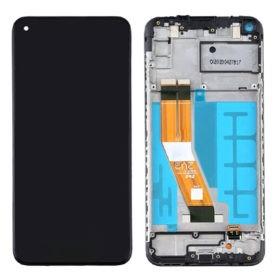 Genuine Samsung A125F Galaxy A12 LCD Screen & Touch Digitiser On Frame