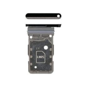 Samsung Galaxy S21 / S21 Plus / S21 Ultra Dual SIM Card Tray Holder - Black