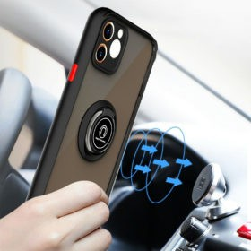 Frosted Hybrid Case With Magnetic Ring Stand – Xiaomi