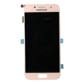Genuine Samsung A320 Galaxy A3 2017 LCD Screen & Touch Digitiser - Peach Cloud