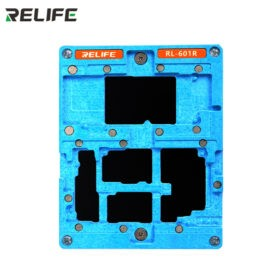 RELIFE RL-601R 10 in 1 iPhone Stencil Template For Re-balling Mainboard