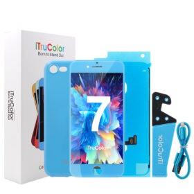 iTruColor Colorful Series High Colour Premium ESR LCD Screen Digitiser - Blue For iPhone 7