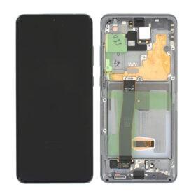 Genuine Samsung G988B Galaxy S20 Ultra 5G LCD Screen & Touch Digitiser - Grey (No Front Cam)