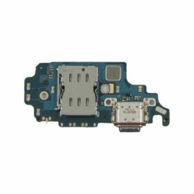 OEM Charging Port Connector / Sim Reader Flex Cable PCB For Samsung G998B Galaxy S21 Ultra 5G